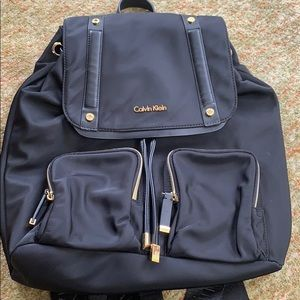 Black Calvin Klein Backpack